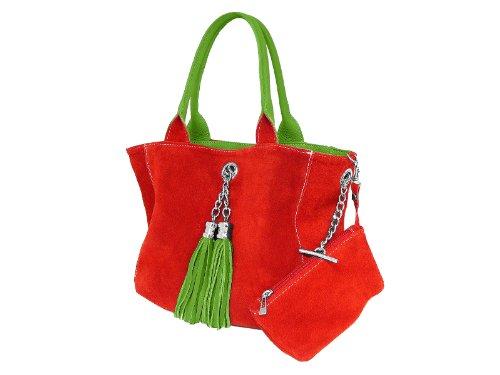 scarlet bijoux , Pochette pour femme Vert Vert One Size