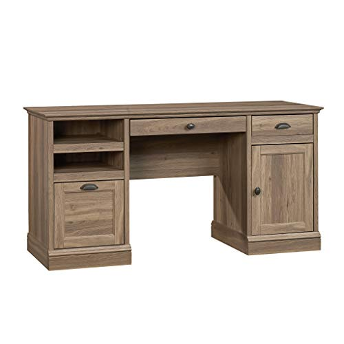 Sauder 418299 Barrister Lane Executive Desk, L: 59.06