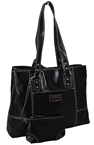 Franklin Covey Women's Tote Bag With Padded Compartment For Computer - Black