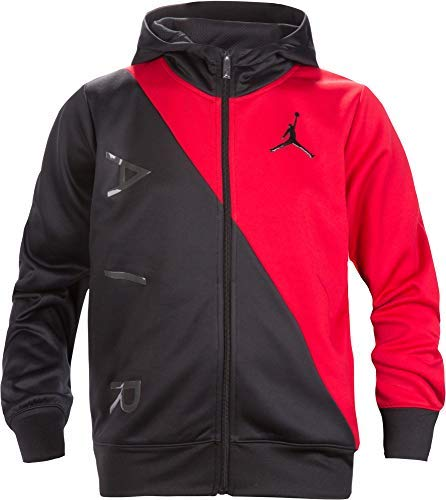 Therma Fit Jacket - Jordan Air Boys Youth Therma-Fit Zip Hoodie Jacket Size M, L, XL (Small (8-10yrs))