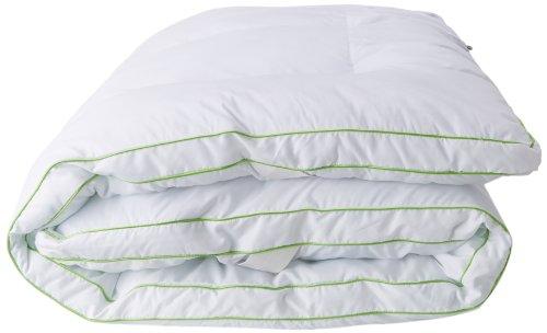 BioPEDIC MemoryLOFT Deluxe 3-Inch Memory Foam/Fiber Bed Mattress Topper, Twin Size, White