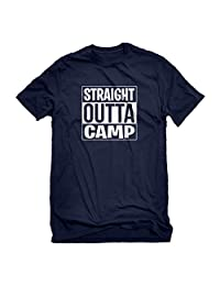 Indica Plateau Mens Straight Outta Camp T-Shirt