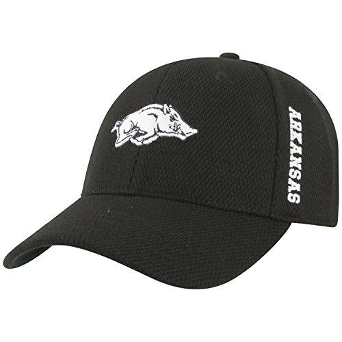 Top of the World Arkansas Razorbacks Official NCAA One Fit Rocket Hat Cap 284354 (University Arkansas Golf State)