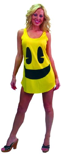 [InCogneato Pac-Man Deluxe Tank Dress] (Yellow Tank Dress Costumes)