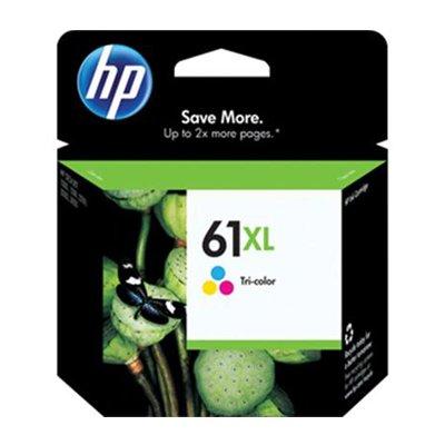 HP #61XL DeskJet 3050 / 3000 / 2050 / 2000 / 1050 / 1000 Tricolor Inkjet Cartridge, Part # CH564WN (Hp Deskjet 1050a)