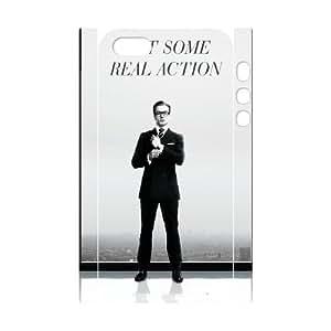 GTROCG Kingsman The Secret Service Phone 3D Case For iPhone 5,5S [Pattern-1]