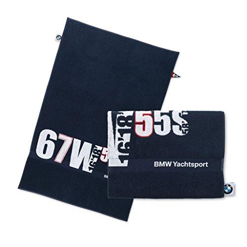 BMW yachting beach towel - dark blue