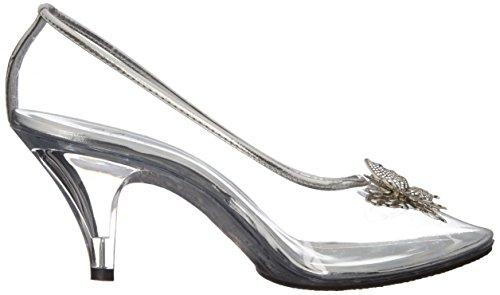 Ellie Shoes Womens 305-cinder Dress Pump Clear