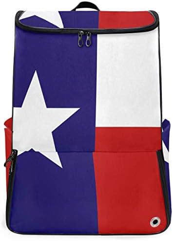 リュック メンズ レディース リュックサック 3way バックパック 大容量 ビジネス 多機能 テキサス州の旗 スクエアリュック シューズポケット 防水 スポーツ 上下2層式 アウトドア旅行 耐衝撃