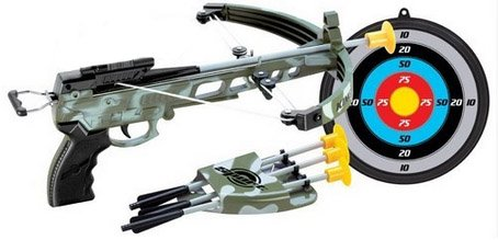 Military Toy Crossbow Set w/ Target (Toy Crossbow)
