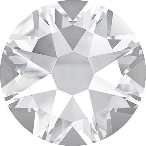 New Swarovski Elements 2058 (2028) Foiled Flatbacks ss 30 Crystal Clear 1 Gross (360pcs) Rhinestones Factory ()