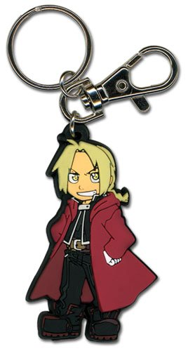 Fullmetal Alchemist Brotherhood Ed Sd Pvc - Full Alchemist Metal Keychain