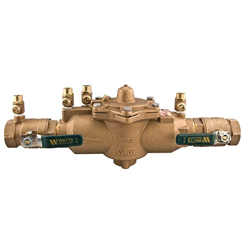 Reduced Pressure Zone Assembly - Watts 0391006 1.5 In Female LF009M2-QT Reduced Pressure Zone Assembly