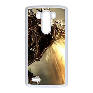 the elder scrolls v skyrim LG G3 Cell Phone Case White 53Go-351689