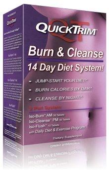 Quick Trim brûler et purifier 14 comprimés Day Diet système