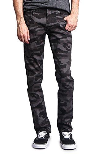 uflage Skinny Fit Jeans AR169 - BLACK/CAMO - 30/32 ()