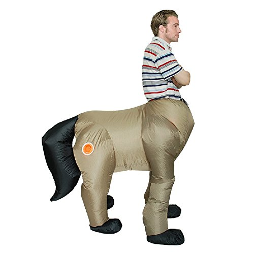 Inflatable Remy Martin Body Fat Suit Blow Up Fancy Dress Funny Costume Halloween (Adult) Grey