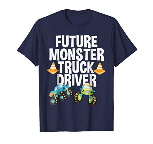 Future Monster Truck Driver Funny Humor Costume T-Shirt -