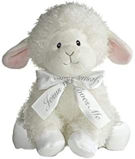 Gund Baby Lena Lamb Musical Toy Little Blessing Jesus Loves Me Soft Baby Toys For Baby