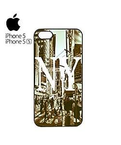 New York NY Retro Mobile Cell Phone For LG G2 Case Cover Black