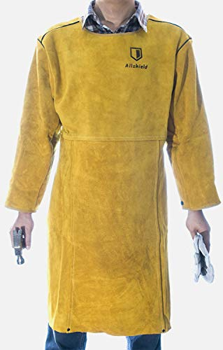 Allshield A44-1874 Welding leather Clothes Coat with Sleeves by Allshield (Image #10)