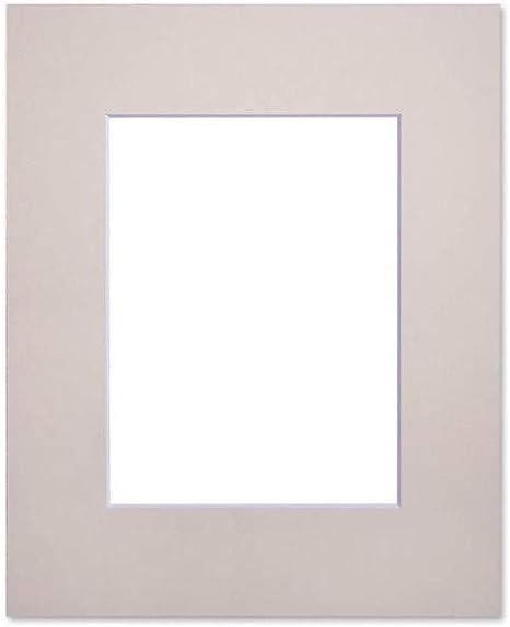 Fertig-Passepartout 40x50 cm für 28x35 cm bisquit