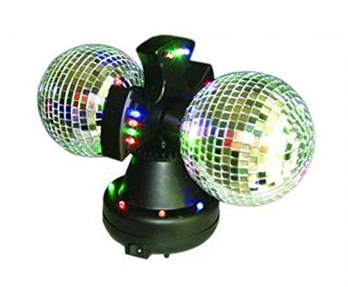 8 Rotating Mirror Ball With Led Lights in US - 2