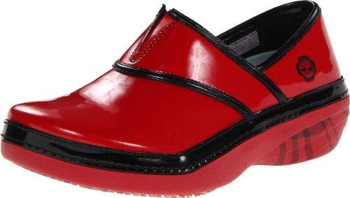 Timberland PRO Women's Renova Work Shoe,Red/Black Binding,5.5 W US