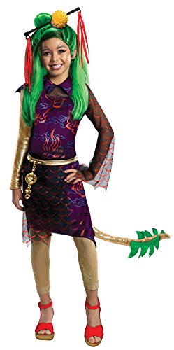 Girls Mh Jinafire Kids Child Fancy Dress Party Halloween Costume, S (4-6)]()