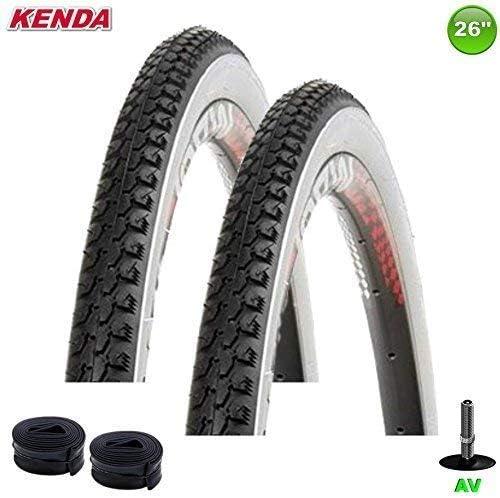 Kenda K de 131 – Cubiertas para bicicleta (26 x 1 3/8 x 1 1/2 – 37 ...