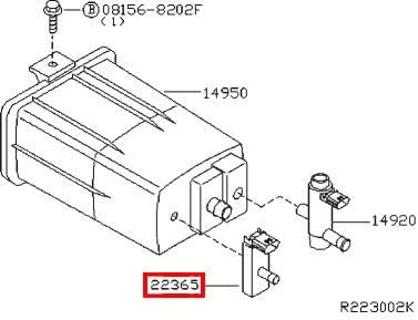 3CV1 Yamaha FJ 1200 - Front Brake Lever Stop Switch 1989 1200 CC