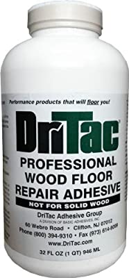 DriTac 32 Fl Oz. Professional Wood Floor Repair Adhesive