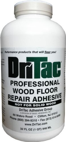 DriTac Professtional Wood Floor Repair Adhesive, 32 fl. oz. (Best Glue For Wood Floors)