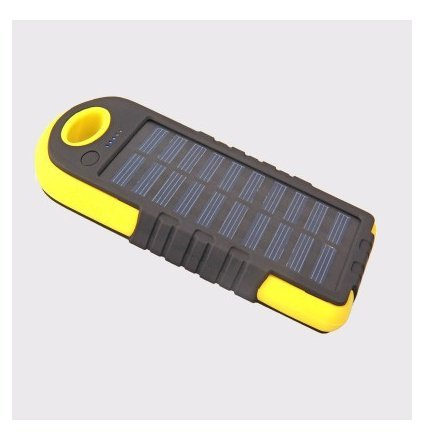 Jun, Cargador solar, Tech Solar Power Bank Dual Puerto USB ...