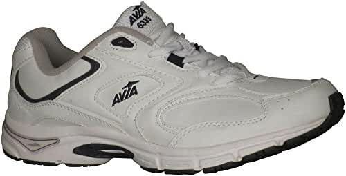 Avia Men's A6339M White/Navy Sneaker 13 4E - Extra Wide