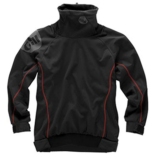 Gill /16 Junior Thermal Dinghy Top in Graphite 4366J Junior Sizes - Junior Large - Gill Thermal
