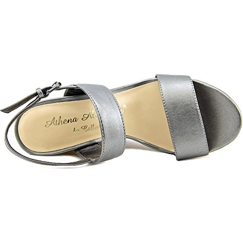 Wedged Toe Alexander Beryl Athena Womens Pewter1046232 Open Casual Sandals qHYzwAxA