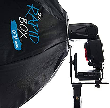 Westcott Rapid Box Octa Softbox with Built-in Universal Speedlite Mount 26 with Flash Trigger System Compatible with Nikon Speedlight Flashes