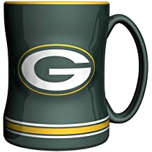 Boelter Brands NFL Sculpted Relief Mug, 14-Ounce