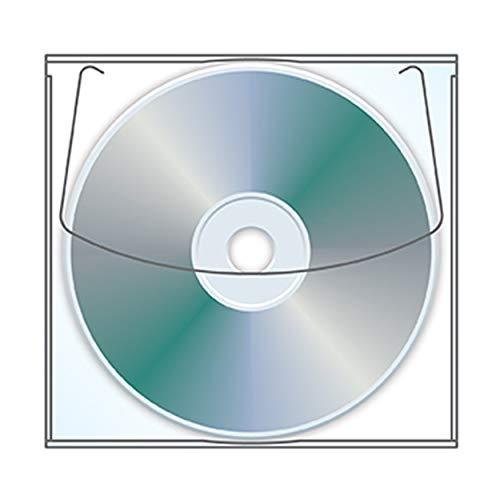Adhesive Backed Cd - Adhesive CD | DVD Sleeve - Box of 1000