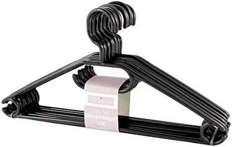 verstellbare Krawattenhalter N-A Schal-Kleiderb/ügel drehbar 4 St/ück schwarz, wei/ß