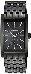 Bulova Men's Quartz Stainless Steel Casual Watch, Color:Black (Model: WN3069)