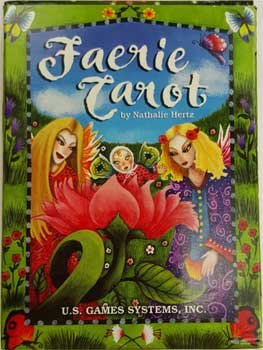 Party Games Accessories Halloween Séance Tarot Cards Faerie Whimsical Traditional Tarot by Nathalie Hertz by AzureGreen