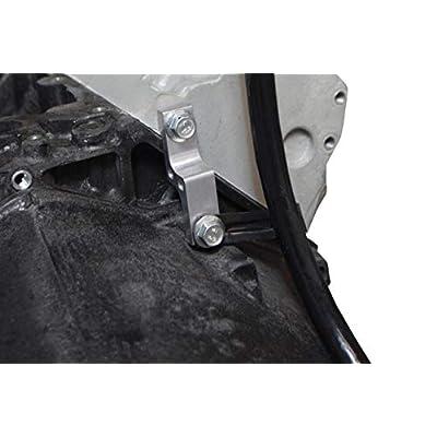 ICT Billet LS Swap Transmission Dipstick Adapter Bracket Compatible with TH400 TH350 4L60E 700R4 2004R 4L80E LS1 LS3 LS2 LQ4 LQ9 LS6 L92 L99 L33 LR4 Designed & Manufactured in the USA 551323: Automotive