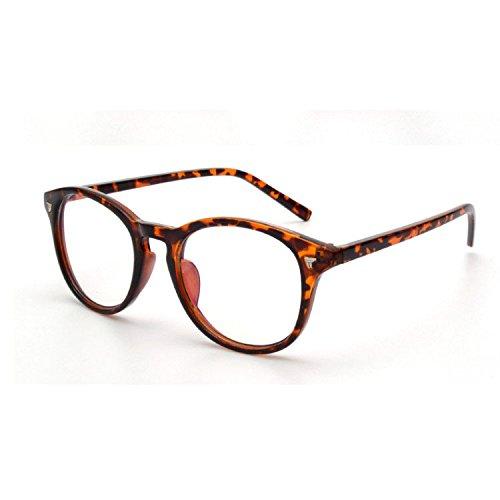 Aoligei Retro lunettes cadre Fashion centaines images étudiant cadre miroir E