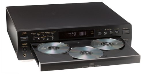 JVC XL-FZ258BK 5-CD Changer (Discontinued by Manufacturer)