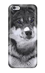 Sanp On Case Cover Protector For Iphone 6 Plus (animal Wolf)
