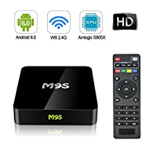 Beidi M9S TV Player Android 6.0 64 Bits Quad Core and Supporting 4K (60Hz) Full HD /H.265 /WiFi 2.4GHz