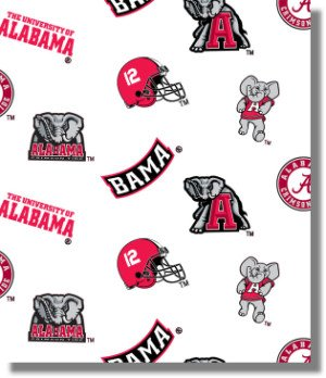 University of Alabama By Sykel - 100% Cotton 44
