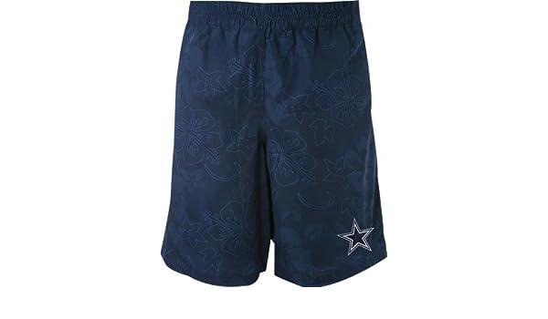 b80eccf5cf Amazon.com: Dallas Cowboys Hawaiian Swim Trunks - XX-Large: Clothing
